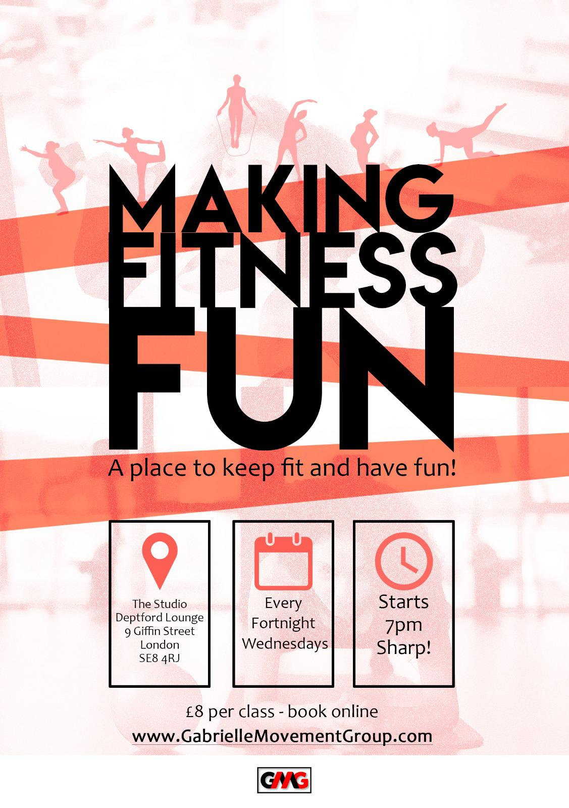 Making Fitness Fun - Group Fitness Class