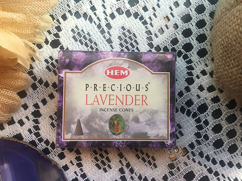 Precious Lavender HEM Incense Cones