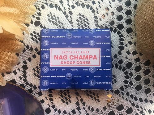 Nag Champa Satya Incense Cones