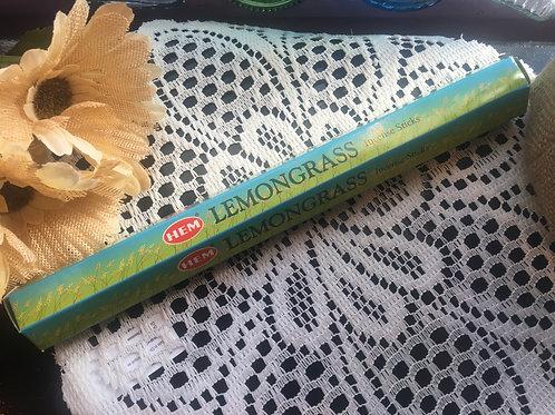 Lemongrass HEM Incense Sticks 15g