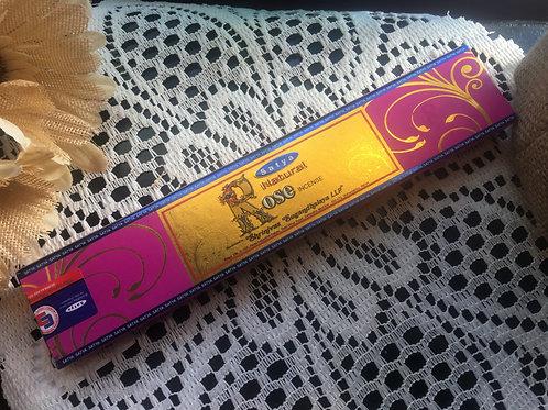 Natural Rose Satya Incense 15g