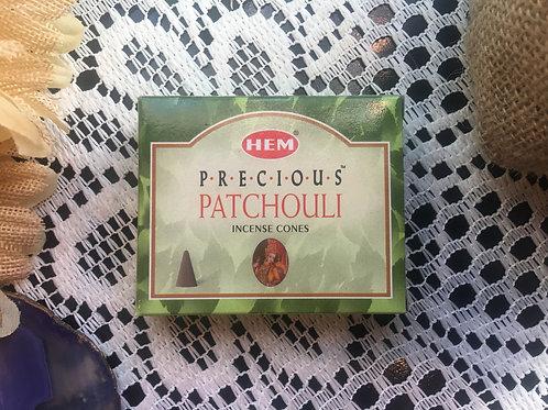Precious Patchouli HEM Incense Cones