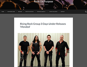 Rock on Purpose - 3 Days Under Review of Mended
