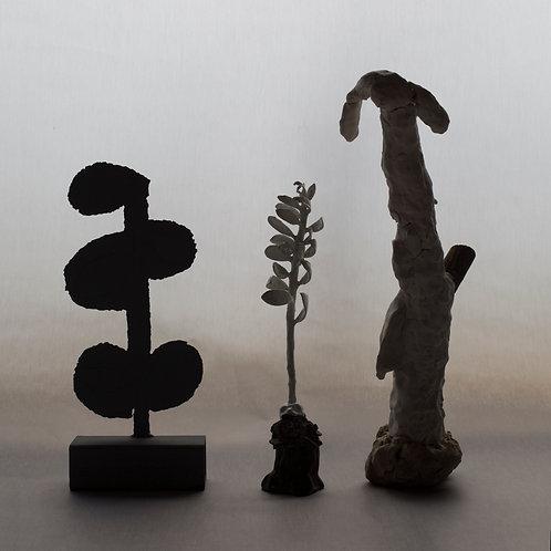 'Garden Figures' Print image size 30cm x 30cm with 10cm white border Edition 50