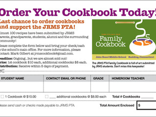 Order Your Cookbook Today!