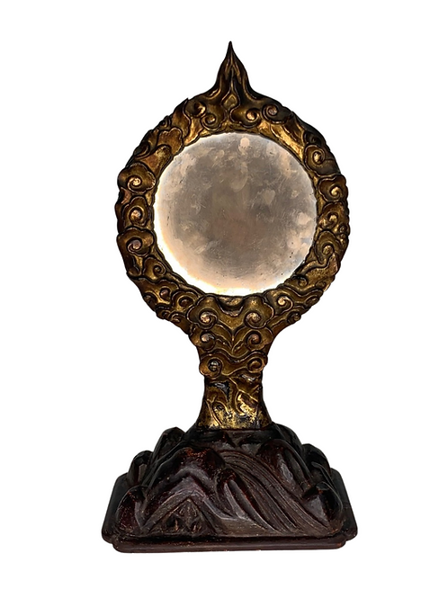 Edo Japanese, Early 19th Century Temple Shrine SacredAltar Mirror
