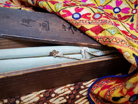 Scrolls and textiles