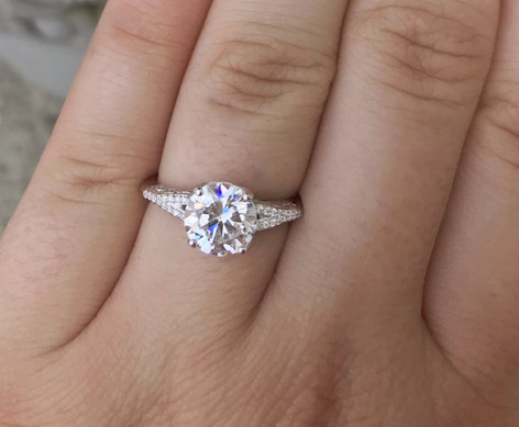 Engagement & Bridal Rings by Haig's of Rochester.  Call the store at (248) 652-3660 for a consulation appointment.