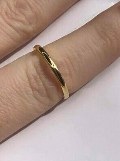 18 K Solid Gold Ring Wedding Band