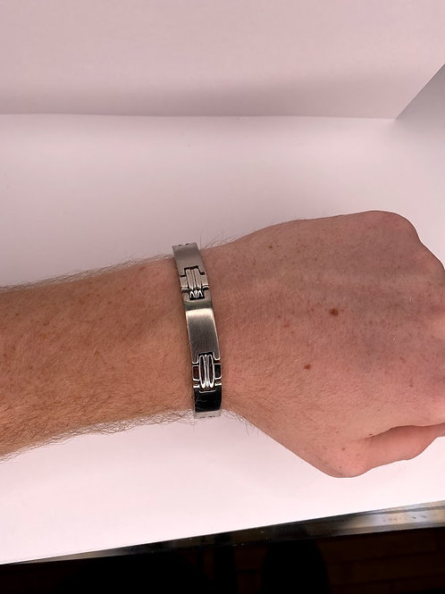 Men's Stainless Steel Bracelet 8.5 ""