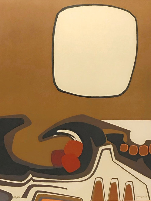 """Antonio Guanse, """"Vague,"""" Signed & Numbered Color Lithograph"""