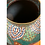 Thumbnail: Large Japanese Cloisonné Vase, Multi Color Jewel Tones