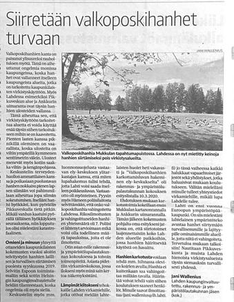 Uusi-Lahti lehti 11.3.2020