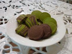 Sablé Green tea  & Sablé Chocolate