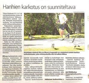 Uusi-Lahti lehti 9.9.2020
