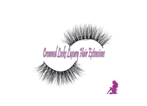 Queen Cleopatra 3D Thin Line Mink Lashes