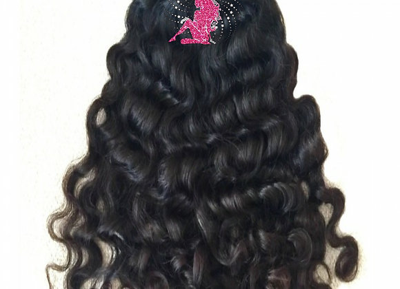 Queen Indian Raw Curly
