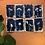 Thumbnail: Cyanotype Fleurs du jardin 8 x 12cm