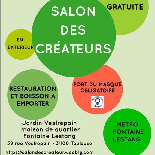 Salon des créateurs du Quartier Fontaine Lestang