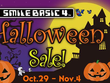 SmileBASIC 4 : Halloween Sale! (until Nov. 4)