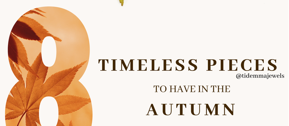 8 Timeless Pieces To Have In The Autumn