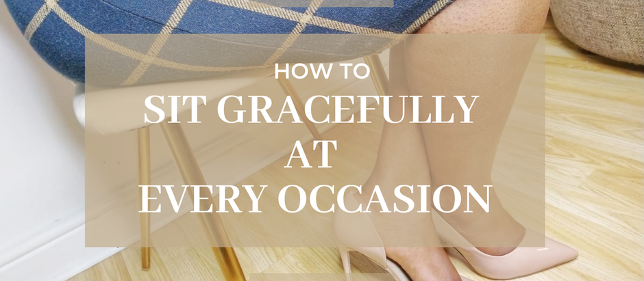 How To Sit Gracefully At Every Occasion