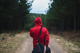 einsam Reisende