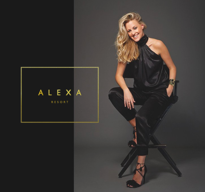 ALEXA RESORT Face of brand