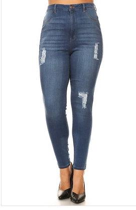 Kalyn Distressed Jeans