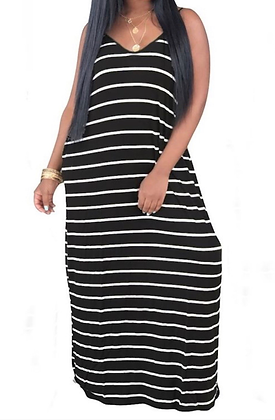 """""""Let's Chill"""" Maxi Dress"""