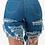 "Thumbnail: ""Savage"" Denim Bermuda shorts"
