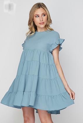 """Baby Doll"" Mini flare dress"
