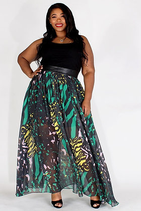 Safari Maxi skirt