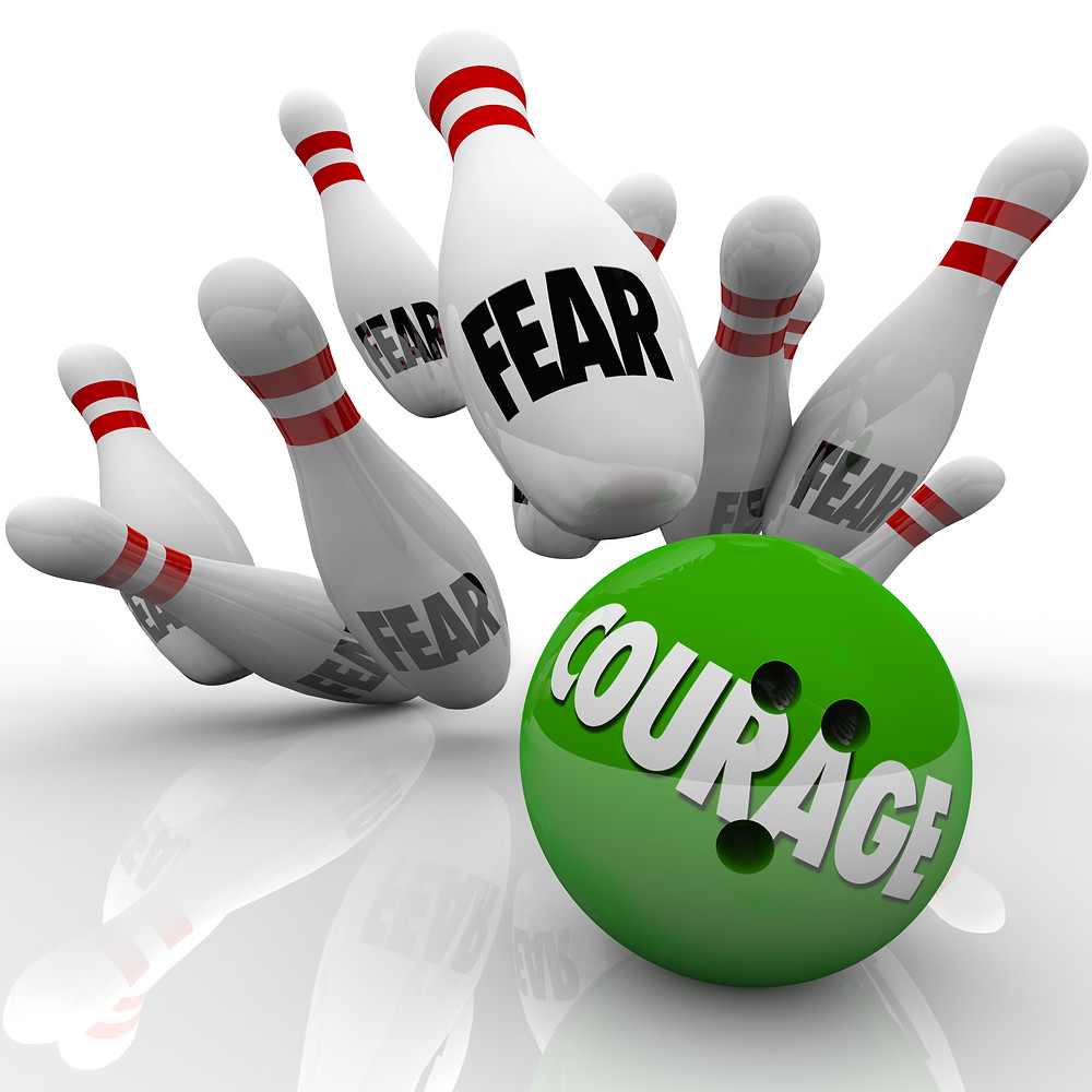 Face your fears in 2017 with Courage