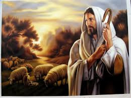 Picture of Jesus with Sheep