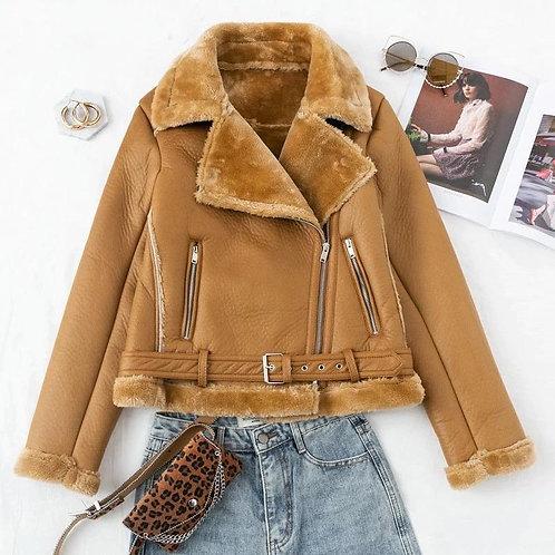Frankie Faux Fur Jacket