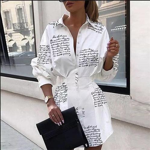 Terezza Mini Shirt Dress