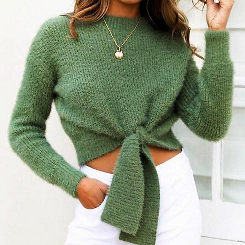 Igua Mohair Knitted Sweater