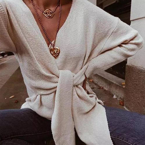 Kris Bow Jumper Sweater