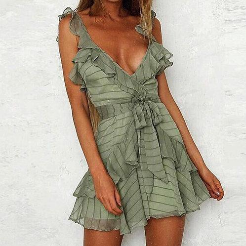 Katy Sexy V Neck Summer Dress