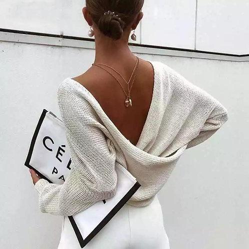 Pamela Cross Sexy Pullover