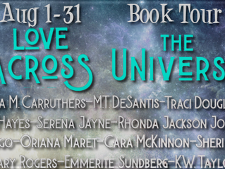 Love Across the Universe Blog Tour