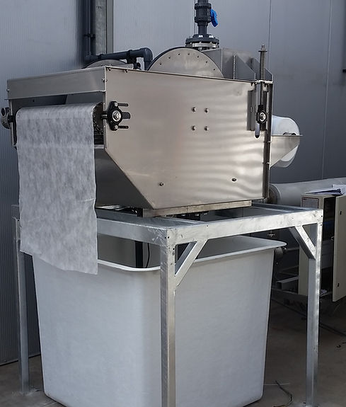 doekfilter van ECOfilter, fleecefilter, papierbandfilter