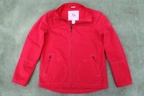 Windward Snapper Red Canvas Jacket