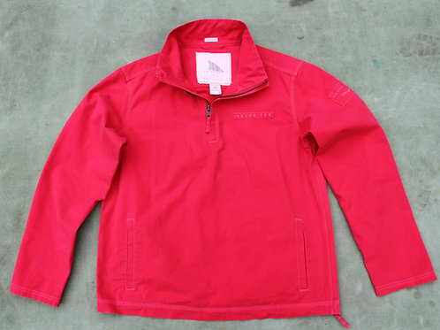 Leeward Snapper Red Shell Jacket