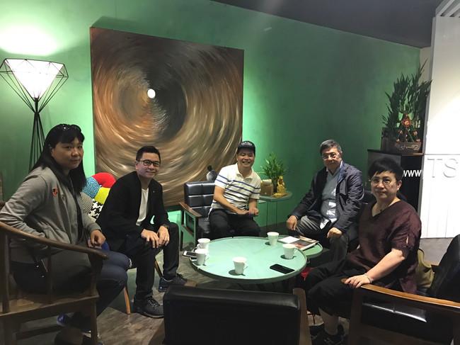CIDA中國室內裝飾協會,劉珝會長一行好友來訪