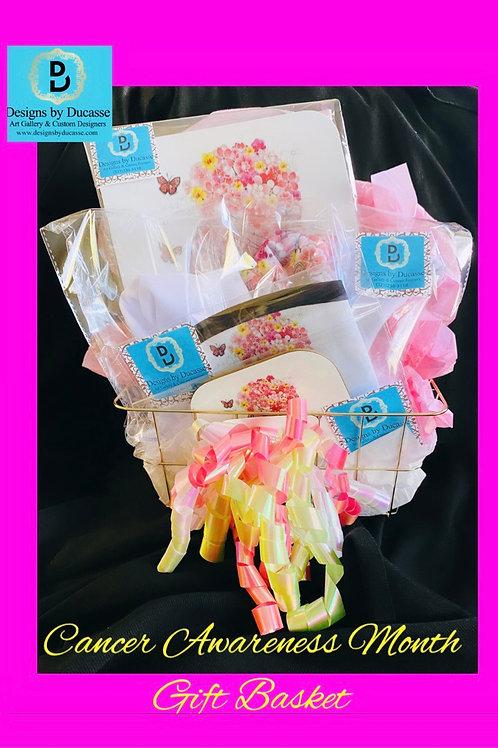 Cancer Awareness Gift Basket