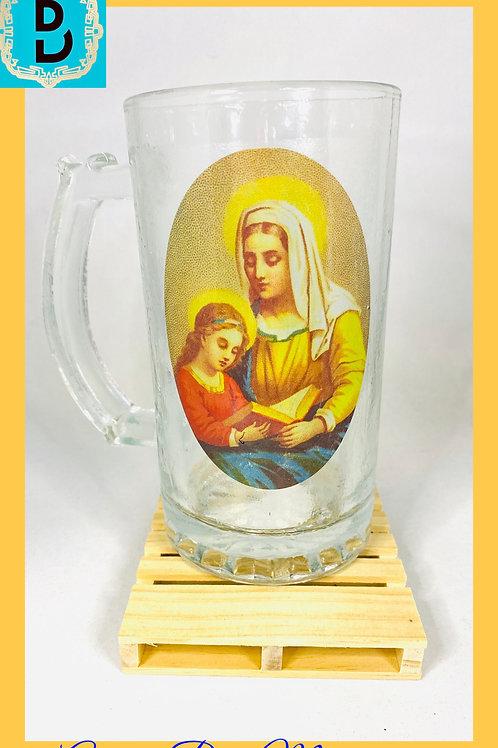 Anaisa/Saint Anne Glass Mug