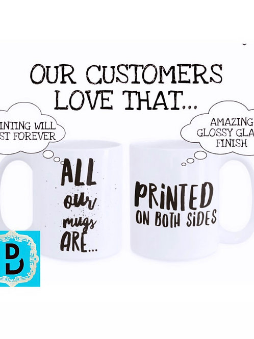 Custom Mug and Coaster