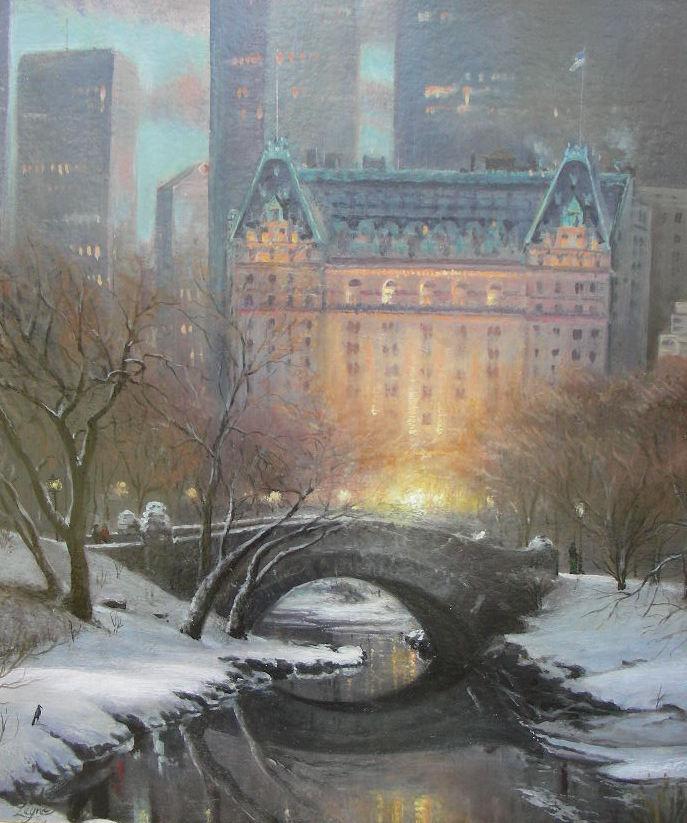 Plaza Hotel, NY - 30x36